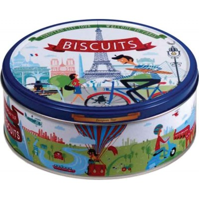 Jacobsens of Denmark European Tour Cookie Tin Assortment