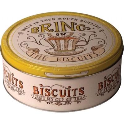 Jacobsens of Denmark Tea Time Cookie Tin Assortment