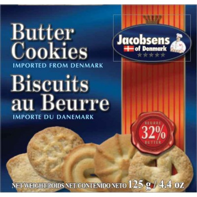 Jacobsens Danish Butter Cookies Box