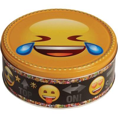Jacobsens of Denmark Chocolate Chip Cookie Emoji Tins Asst