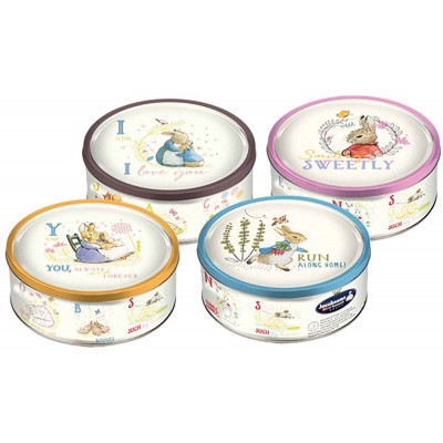 Jacobsens Peter Rabbit 4 Scenes Danish Cookies