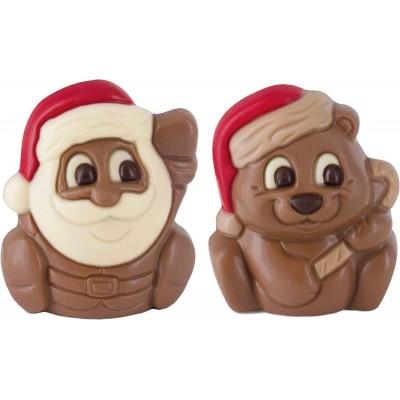 Belfine Santa & Bear in Acetate Box (12 each)