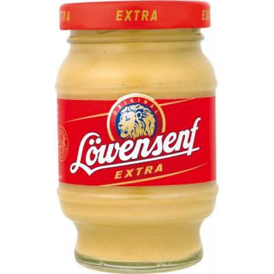 Lowensenf Small Extra Hot Mustard Jar