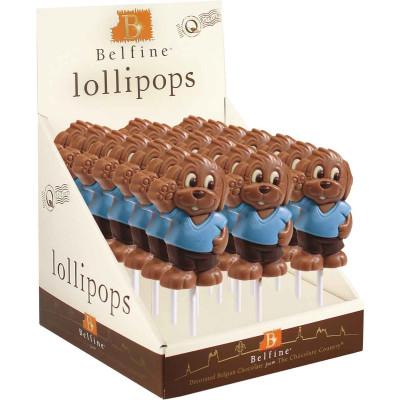 Belfine Filou Chocolate Lollipops