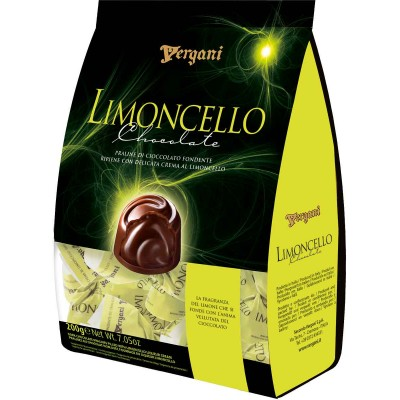 Vergani Limoncello Flavored Chocolates