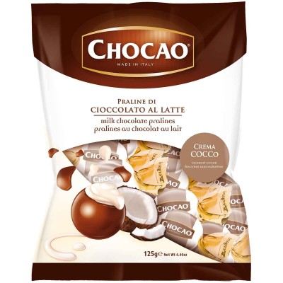 Vergani Chocao Milk Chocolate with Coconut Cream