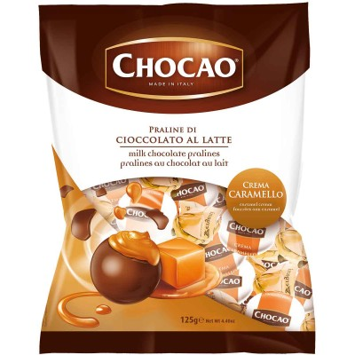 Vergani Chocao Milk Chocolate with Caramel Cream