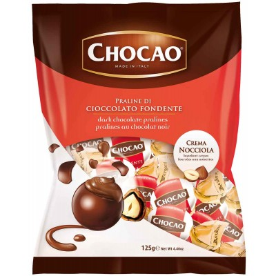 Vergani Chocao Dark Chocolate with Hazelnut Cream