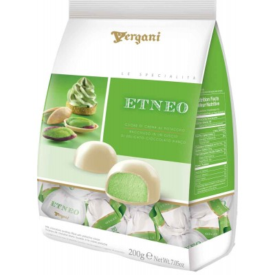 Vergani Etneo White Chocolate with Pistachio Cream