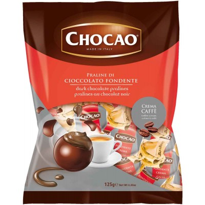 Vergani Chocao Dark Chocolate with Coffee Cream