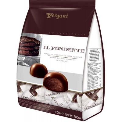 Vergani Il Fondente Dark Chocolate with Chocolate Ganache