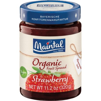 Maintal Organic Strawberry Fruit Spread
