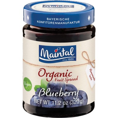 Maintal Organic Blueberry Fruit Spread
