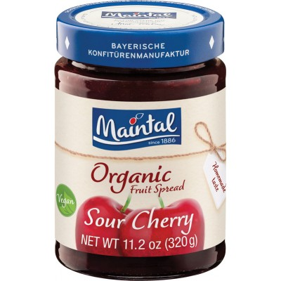 Maintal Organic Sour Cherry Fruit Spread