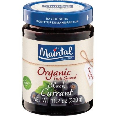 Maintal Organic Black Currant Fruit Spread