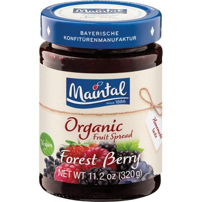 Maintal Organic Forest Berry Fruit Spread