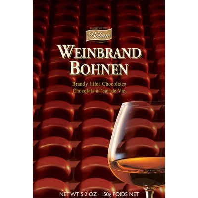 Boehme Brandy Filled Chocolate Bean Gift Box
