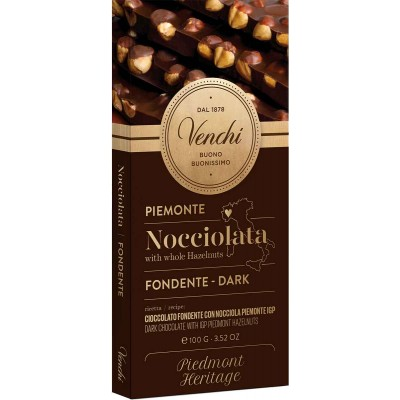 Venchi Dark Hazelnut Bar