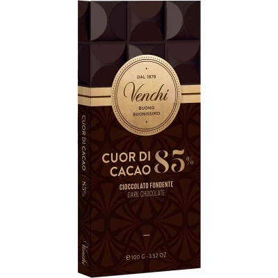Venchi 85% Dark Chocolate Bar
