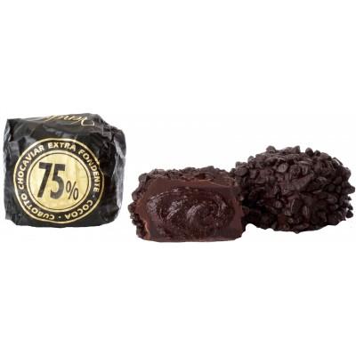 Venchi Cubotto Chocaviar 75% Bulk Candy 52 ct