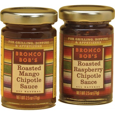 Bronco Bob's Roasted Raspberry & Mango Chipotle Sauce