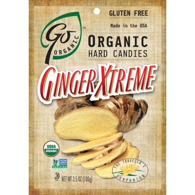 Go Organic Ginger Extreme Natural Candy Bag