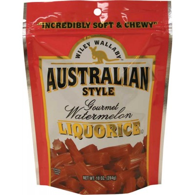 Wiley Wallaby Watermelon Licorice Bag