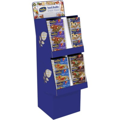 Wasa Classic Four Flavor Crispbread Display
