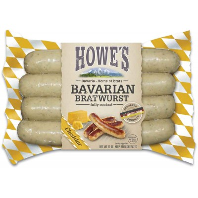 Howes Premium Cheddar Bratwurst
