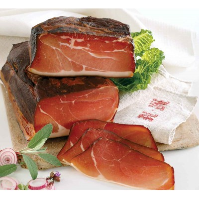 Abraham Black Forest Mildly Smoked Prosciutto
