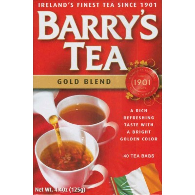 Barrys Gold Blend Tea 40 ct