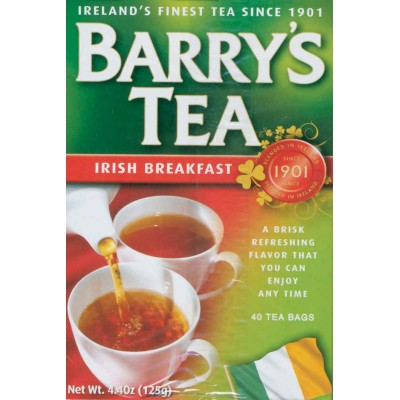 Barrys Irish Breakfast Tea 40 ct