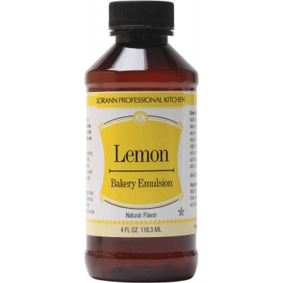 Lorann Natural Lemon Bakery Emulsion