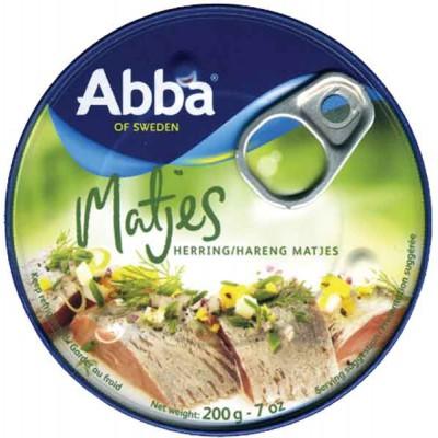 Abba Matjes Herring Tin