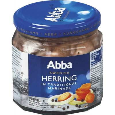 Abba Traditional Marinated Jarred Herring