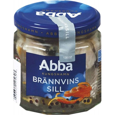 Abba Aquavit Marinated Jarred Herring
