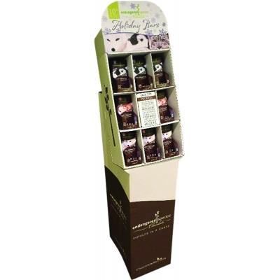 Endangered Species Rainforest Alliance Assorted Cocoa Bar Display
