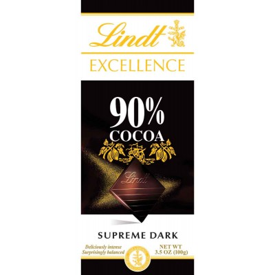 Lindt 90% Cocoa Supreme Dark Excellence Bar