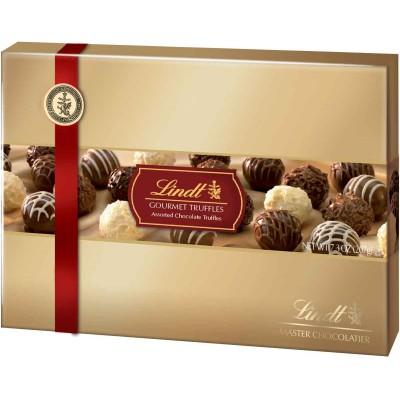 Lindt Gourmet Truffles Gift Box
