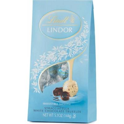 Lindt Stracciatella Chocolate Lindor Truffles Bag