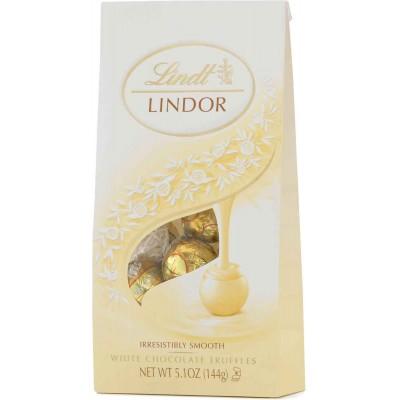 Lindt White Chocolate Lindor Truffles Bag