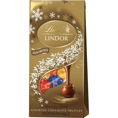 Lindt Holiday Lindor Assorted Truffle Bag
