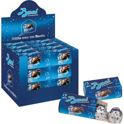 Perugina Baci Italian 2 Piece Display
