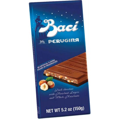 Perugina Baci Italian Dark Chocolate Bar