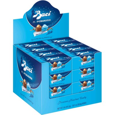 Perugina Baci Milk Chocolate Italian 2 Piece Display