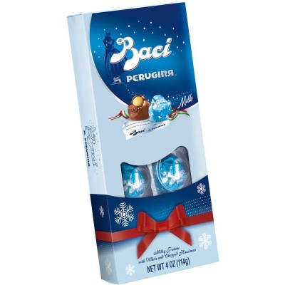 Perugina Baci Milk Vista 8 Piece with Holiday Sleeve
