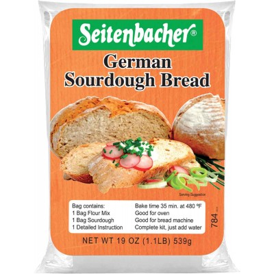 Seitenbacher Sour Dough Bread Mix