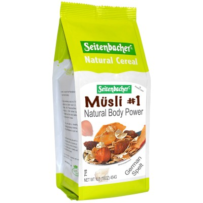 Seitenbacher #1 Natural Body Power Muesli