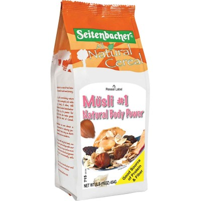 Seitenbacher Natural Body Power Muesli Cereal