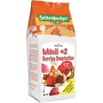 Seitenbacher Berry Temptation Muesli Cereal